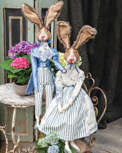 Bunnies Of Versailles