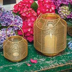 Mod Brass Lanterns