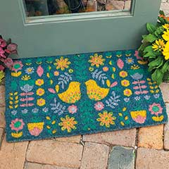 Spring Joy Welcome Mat