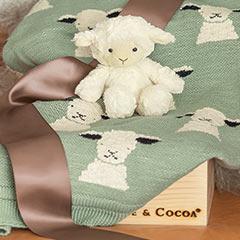 Petite Lamb & Blanket