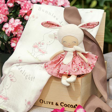 Bunny Doll & Swaddle