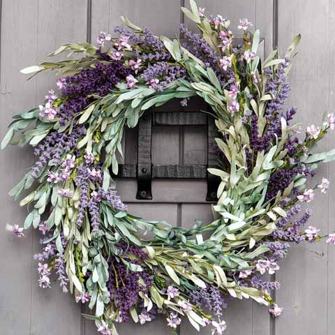 Lavender & Sage Wreath
