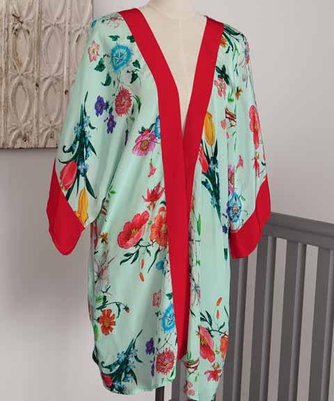 Marché Aux Fleurs Kimono