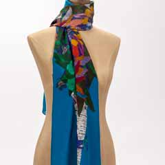 Market Bouquet Silk Scarf