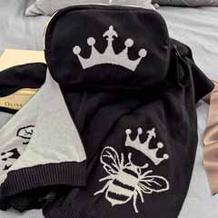 Queen Bee Blanket Set