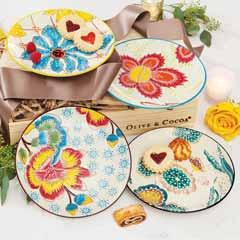 Chelsea Blooms Plate Set
