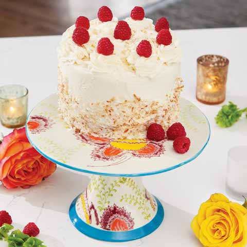 Chelsea Blooms Cake Stand