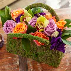Blooming Floral Handbag