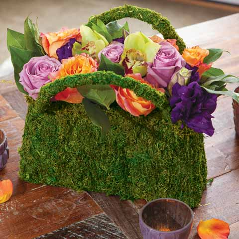 Blooming Floral Handbag