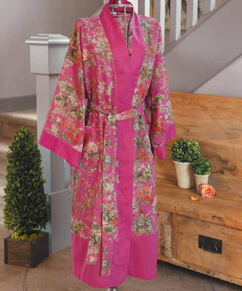Spring Azalea Kimono