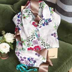 Pretty Posy Capri Pajamas