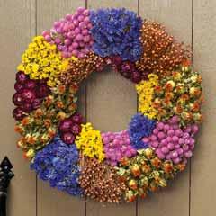 Floriculture Wreath