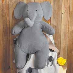 Jumbo Elephant & Blankie