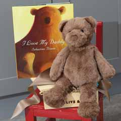 """I Love My Daddy"" Book & Bear"