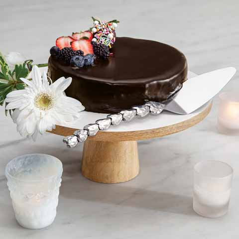 Simple Elegance Cake Stand & Server