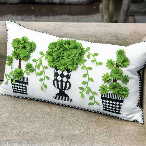 Topiary Pillow