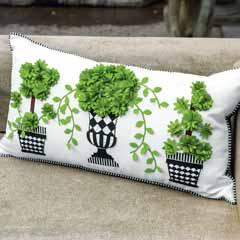 Topiary Pillow