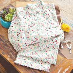 Vintage Floral Pajamas