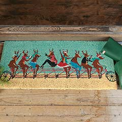Riding Reindeer Estate Mat