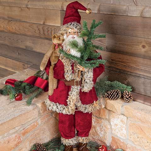 Heritage Standing Santa