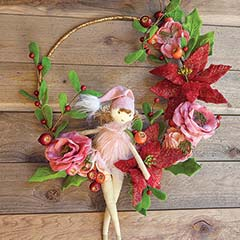 Wood Sprite Wreath