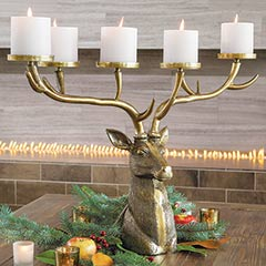 Imperial Stag Candelabra