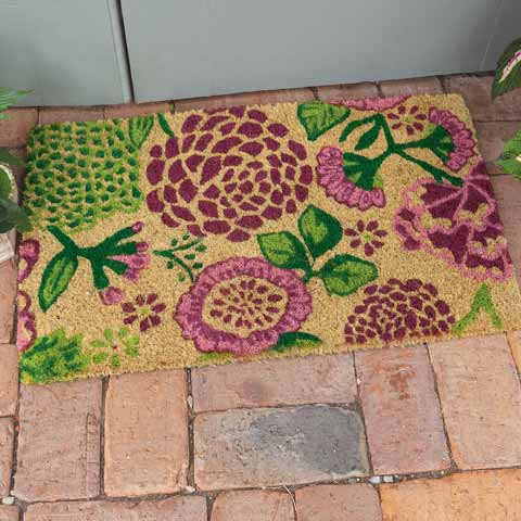 Desert Flowers Door Mat