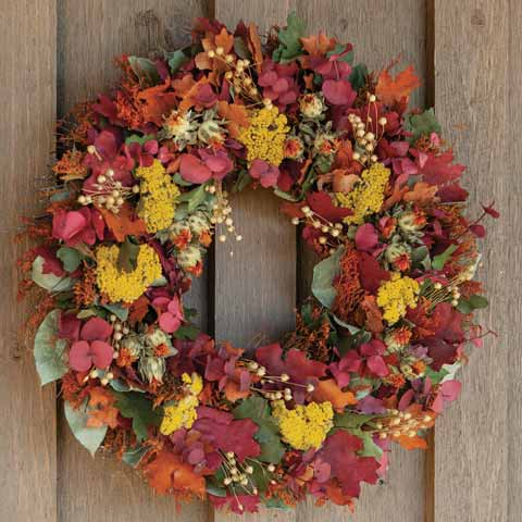 Harvest Foliage Wreath