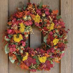 Harvest Foliage Wreath