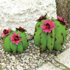 Barrel Cactus Sculptures