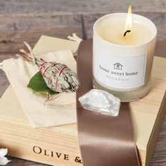 """Home Sweet Home"" Candle Set"