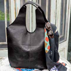 Bellano Leather Hobo Bag