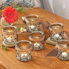 Modern Seaside Votives