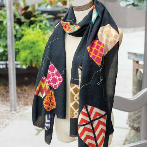 Autumn Breeze Kite Scarf