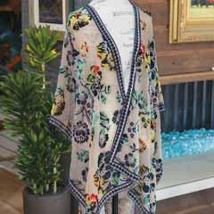 Maybrook Floral Kimono