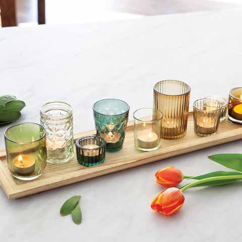 Saint Germain Candle Tray
