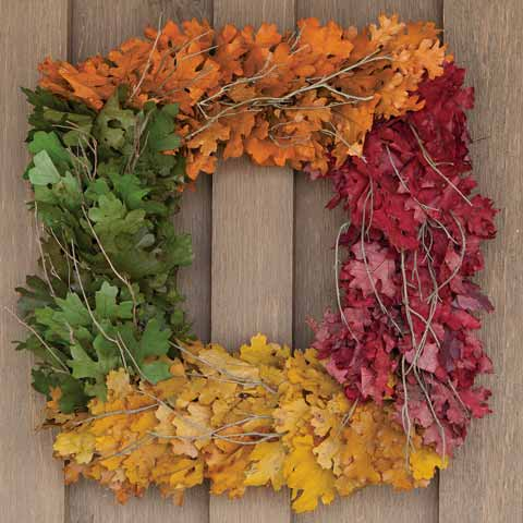 Fall Colors Wreath