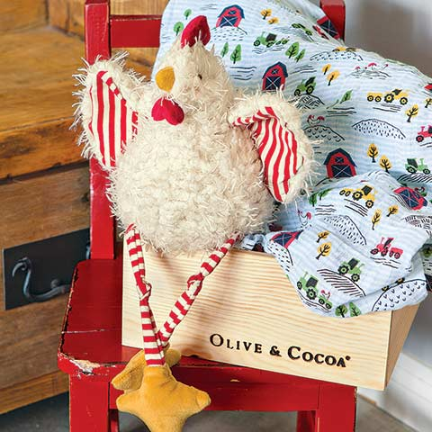 Chicky Little & Farm Swaddle
