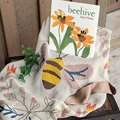 """""""Beehive"""" Book & Blankie"""