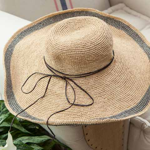 Lucinda Dove Grey Sun Hat