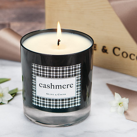 Olive & Cocoa Cashmere Candle