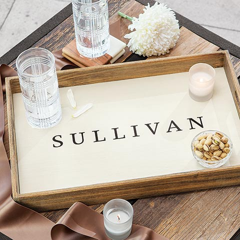 Classic Personalized Tray