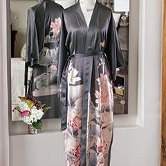 Silk Lotus Robe