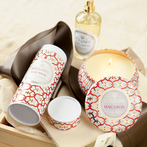 Macaron Candle & Room Spray Set