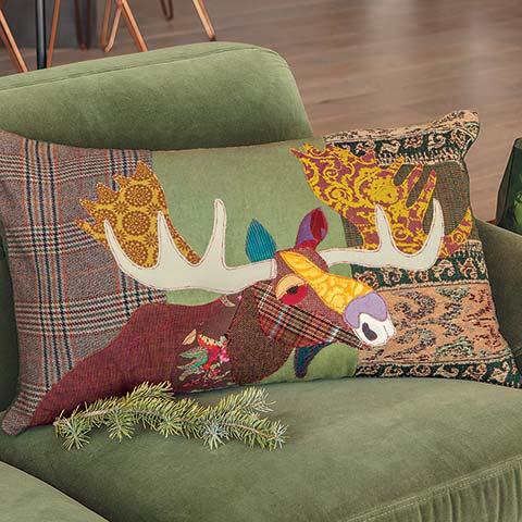 Estate Moose Pillow