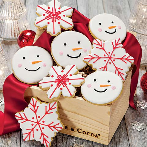 """Frosty"" Cookie Crate"