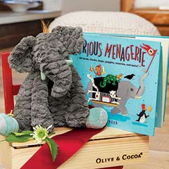 Edmund Elephant & Book