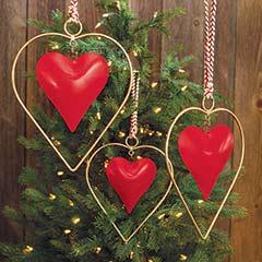Copenhagen Christmas Hearts