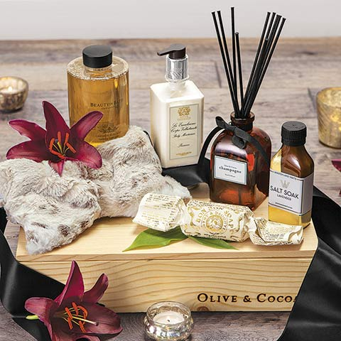 Chamonix Spa Crate
