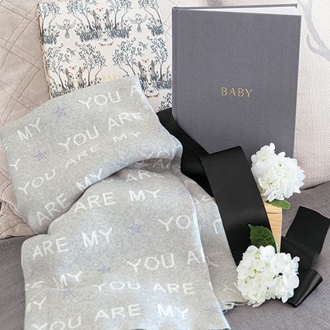 Keepsake Book & Blanket